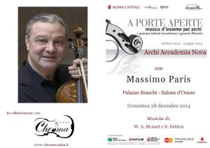 Masterclass di Massimo Paris