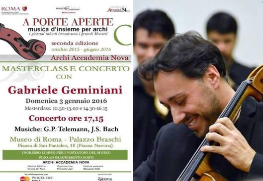 Gabriele Geminiani (3 gennaio)